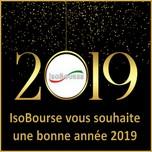 IsoBourse vous souhaite une bonne année 2019