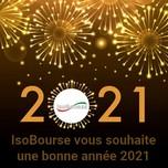 IsoBourse vous souhaite une bonne année 2021